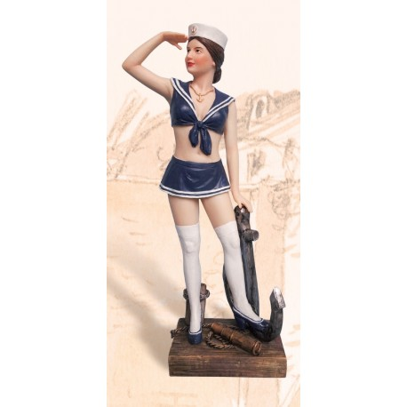 Lady Sailor with anchor