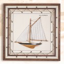 3D Sailboat on Canvas